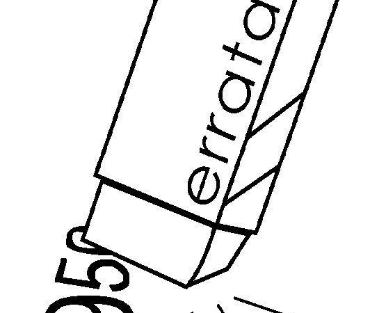 Errata Project & p-10