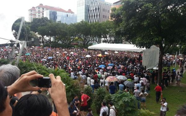 Event: Hong Lim Park 3 Times