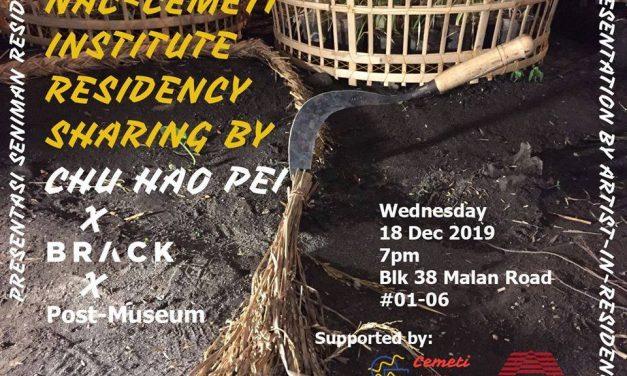 NAC-Cemeti Institute Residency Sharing by Chu Hao Pei