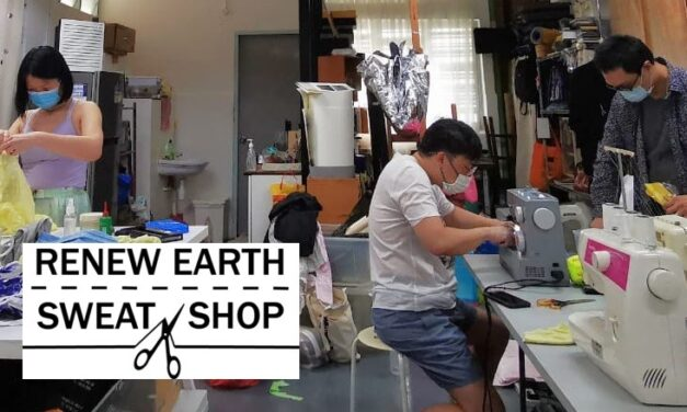 Renew Earth Sweat Shop @ HEARTH