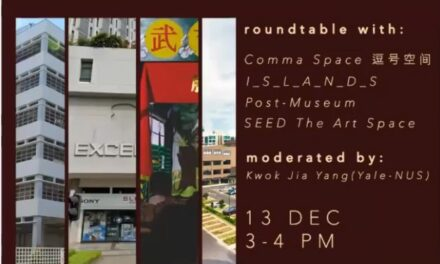 [Roundtable] Independent Arts Spaces in Singapore