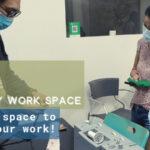 Renew Earth Sweat Shop: Community Work Space